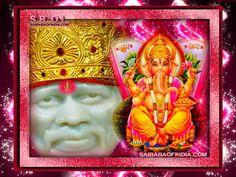 Shirdi Sai Baba -  Ganesha wallpapers