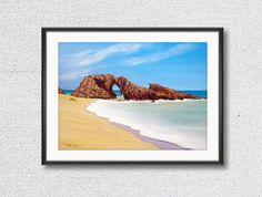 Jericoacoara Beach - Ceará - Brazil Oil on Canvas Painting / Pintura Óleo sobre tela