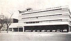 Edificio Chrysler, Casa del Obrero Mundial 411, Narvarte, Benito Juárez, México DF 1952  Arq. Manuel González Rul -  Chrysler building, Narvarte, Mexico City 1952