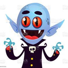 Cute cartoon vampire smiling. Vector illustration isolated - Векторная графика Белый роялти-фри Vampire Cartoon, Cute Cartoon, Illustration, Disney Characters, Fictional Characters, Illustrations, Fantasy Characters, Cute Comics