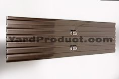 Brown PRO aluminum landscape edging. Order yours today from YardProduct.com!