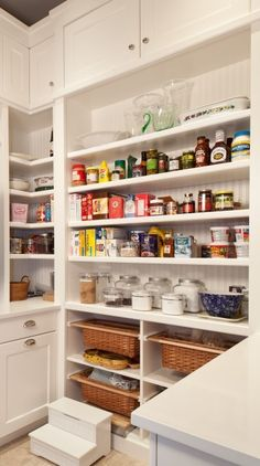 Kitchen Pantry: to hold groceries