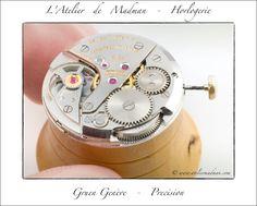 Gruen Vintage Watch - Le mouvement complet, remonté, propre et huilé.