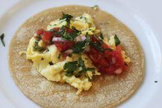 Quick Breakfast Tacos.