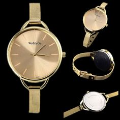 Find More Fashion Watches Information about 2015 luxury brand watch women fashion gold watch full steel quartz watch women dress watches lady hour relojes relogio feminino,High Quality dress watches,China dress clothe Suppliers, Cheap watch aaa from Made in china NO.1 on Aliexpress.com