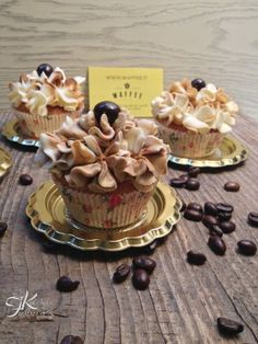 Fulvia's Kitchen Cupcake al caffè - Ricette per Waffee