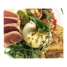 Tuna Caprese