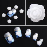 Milky White Acrylic Flower Nail Art Tips Uv Gel Tips Diy Decorations 3d Nail Art, Nail Art Hacks, 3d Flower Nails, Beauty Products Gifts, Gel Tips, Sparkles Glitter, Nail Decals, White Acrylics, Uv Gel