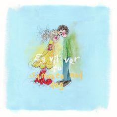 Eg vil vær to sammen med deg.no Colorful Paintings, Mixed Media Art, Lamb, Pictures, Posters, Art, Photo Illustration, Photos, Poster