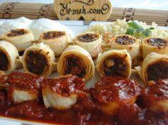 Yufkalı Şiş Kebap Resimli Tarifi - Yemek Tarifleri