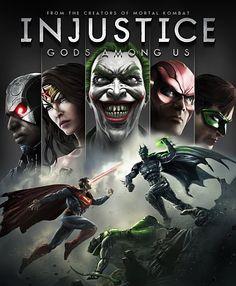 Injustice gods among us. Good game.