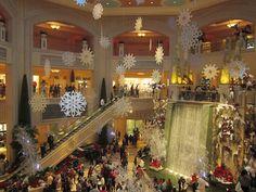 Shops at the Palazzo Hotel - Christian Laboutin, Barneys NY.......