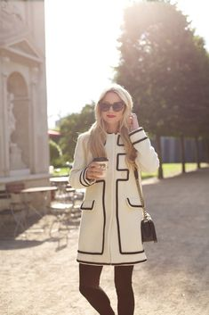 OOTD: Atlantic-Pacific Masters Graphic Expression in Black & White #RueNow