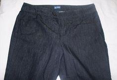 28.01$  Buy here - http://vifpn.justgood.pw/vig/item.php?t=ifja3vb23644 - IZOD Jeans 14 Dark Wash Mid Rise Boot Cut Trouser Style