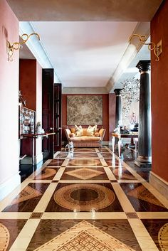 Gorgeous inlay wood floors | cynthia reccord