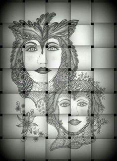 Desenho em 6 B de Maria Inês Pirani