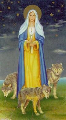 Our Lady of the candle