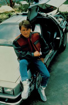 Michael J. Fox gained worldwide fame for his portrayal of Marty McFly (above) in the hit Back to the Future trilogy. In he announced that he was diagnosed with Parkinson's disease Movie Shots, 2 Movie, Movie Theater, Alexandre Le Bienheureux, Michael Fox, Nike Mag, Amblin Entertainment, Bttf, Marty Mcfly