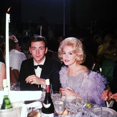 Bobby Darin, Sandra Dee, I think they always loved each other. I stayed in their home they bought hen first got married it was perfect for a couple starting out.