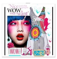 """""""WOW ! Is what I want"""" by conch-lady ❤ liked on Polyvore featuring Desigual and Oscar de la Renta"""