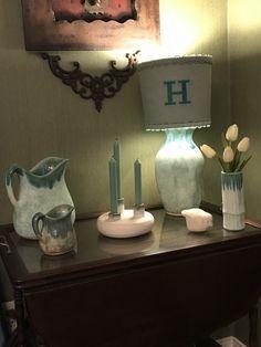 McCarty Pottery Decor, Lamp, Novelty Lamp, Jar Lamp, Pottery, Home Decor, Mccarty Pottery, Mason Jar Lamp