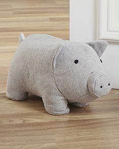 Fabric Animal Door Stop