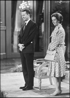 Photo d'archive du roi Baudouin et de la reine Fabiola de Belgique