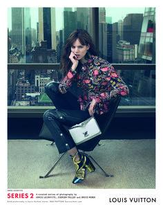 The Louis Vuitton Series 2 fashion campaign, shot by Annie Leibovitz.