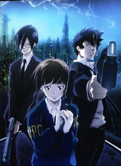"""Psycho Pass Silk Posters 24x33"""""""