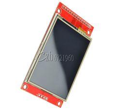 2.4  240x320 SPI TFT LCD Serial Port Module+3.3V PBC Adapter SD ILI9341