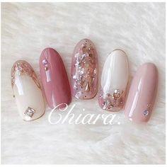 Japanese Nail Design, Japanese Nails, Great Nails, Fun Nails, Beauty Nails, Hair Beauty, Nail Games, Flower Nails, Curvy Outfits