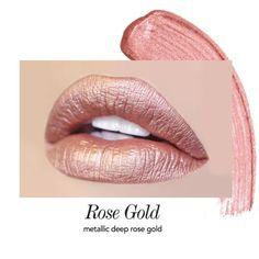 rose-gold liquid Lipstick