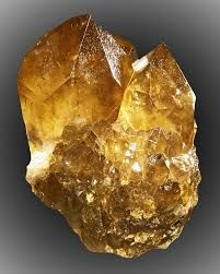 "Citrine - known as the lucky ""Merchants Stone""."