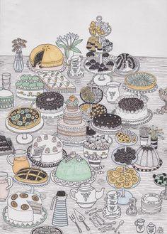 tårtkalas by felicia wulkan