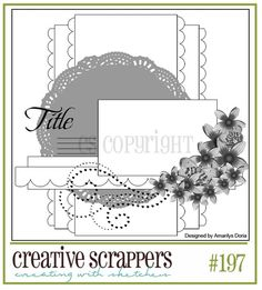 Creative Scrappers Sketch