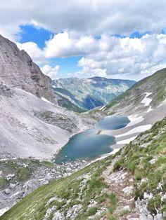 My mountains-Lago de Pilato. Via een mooie wandeling in het Sibillini gebergte kom je bij dit hooggelegen meer