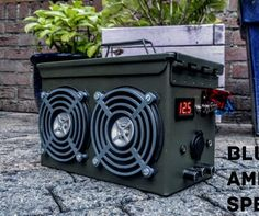 Bluetooth Ammo Can Speaker Instructable