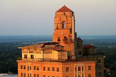 Mineral Wells, Texas - The Baker Hotel at Sunrise