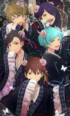 Ensemble Stars art #ensemblestars #cosplayclass Manga Cute, Cute Anime Pics, Hot Anime Boy, Anime Guys, Akatsuki, Star Character, Star Wallpaper, Boy Poses, Star Art
