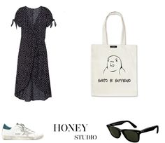 #honeystudio Honey, Dresses For Work, Studio, Polyvore, Image, Natural, Style, Fashion, Moda