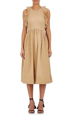 We Adore: The Cecily Twill Midi-Dress from Ulla Johnson at Barneys New York