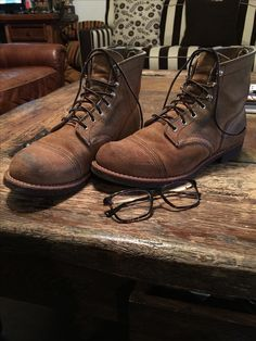 Red Wing Iron Ranger 8113 Boots