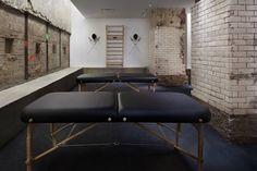 La Palestra massage room