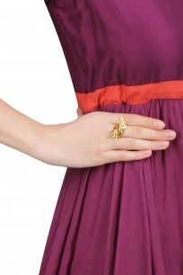 Gold Plated Flying High Ring #mirakin #newdesigner #accessory #shopnow #ppus #happyshopping