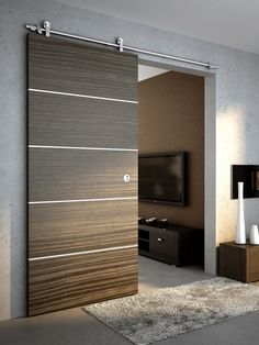 Stainless Steel Wood Sliding Door (SSWD01)