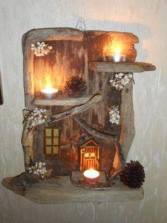 driftwood fairy handmade - Google Search
