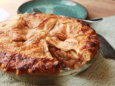 This apple pie slices cleanly and holds its shape as you lift it out of the pie plate. It has chunks of apple that are tender yet intact, lightly bound in a thickened sauce that's just sweet enough with a hint of spices. This is the pie for all you gooey pie lovers out there (and you know who you are).