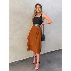 Midi Skirt Outfit, Mini Skirt Dress, Skirt Outfits, Look Fashion, Fashion Outfits, Fashion Design, Womens Fashion, Modest Outfits, Cute Outfits