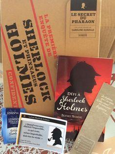 Box de Mars  Thème : Sherlock Holmes Sherlock Holmes