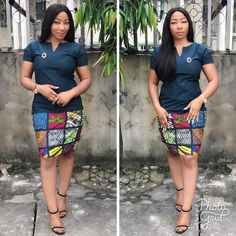 Ankara fabrics are the in-thing and the first outfit idea that comes to your mind is a statement Ankara wear. It's become acceptable to almost any function these days provided… Short African Dresses, Latest African Fashion Dresses, African Print Dresses, Short Dresses, Ankara Fashion, African Shirts, Cat Dresses, African Inspired Fashion, African Print Fashion